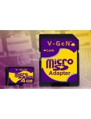 V-Gen Micro SD (Tanpa Adapter) 2GB