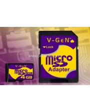 V-Gen Micro SD (Tanpa Adapter) 8GB