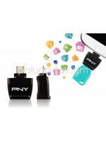 PNY OTG Adapter : Micro USB OTG to USB 2.0 Adapter