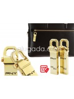 PNY USB 3.0 Hook Gold Edition Flashdisk 16 GB