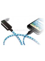 Visible Light (EL) Charge Cable for iPhone, iPad, ipod