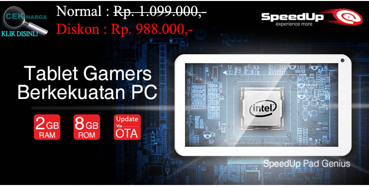 SpeedUp Pad Genius Intel