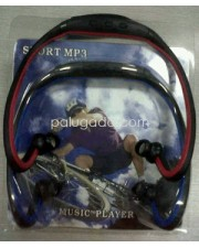 Sport MP3 Earphone - Neckband , Slot Micro SD