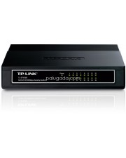 TP-LINK TL-SF1016D : 16-Port 10/100Mbps Desktop Switch