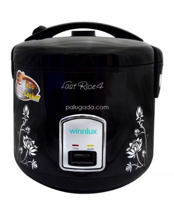Winnlux AP-R308B Rice Cooker 1.8 Liter Black