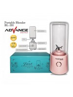 Advance BL-201 Blender Electrik Mini Portable Recharge 420ml