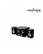 Advance Duo 2000 FM Speaker Subwoofer multimedia duo-2000