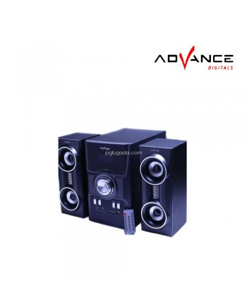 Advance M-9100 FM Speaker Subwoofer multimedia m9100