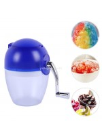 Alat Serutan Es Manual Ice Shaver Fruit Smoothie Machine Portable