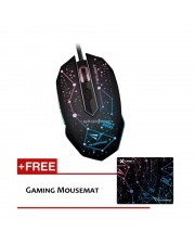 Alcatroz Mouse Gaming X-Craft PRO Twilight 2000 Free Mousepad