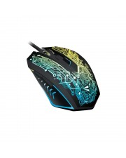 Alcatroz Mouse Gaming X-Craft Tron 5000 Gaming Mouse + Free Mousepad