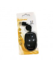 Banda M800 Mini Mouse Retracable - Mouse Mini Tarik