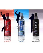 Fable Pria Body Mist Cologne  (1 pak isi 3 Variasi Aroma)