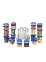 Spin N Store 49 Piece Food Storage Sets - Wadah Penyimpanan