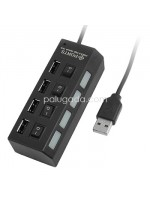 USB Hub 4 Port ON-OFF USB 2.0