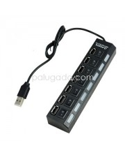 USB Hub 7 Port ON-OFF USB 2.0