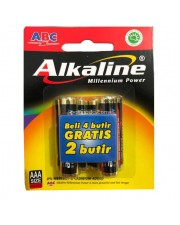 ABC Alkaline Baterai AA 6 Pcs - Battery A2 6pcs