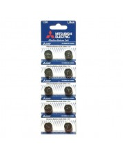 Mitsubishi Electric LR44 Alkaline Button Cell - Baterai Kancing