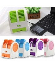 AC Mini Portable Duduk Twin Double Fan Parfum