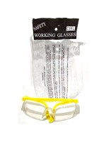 Camel Kacamata Las Putih - Lab Safety Glass