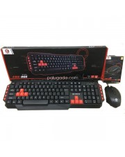 Cyborg CKG-066 CMG-066 Paket Keyboard Mouse Gaming
