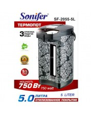 Sonifer SF-2055-5L Electric Thermos Pot - SF2055 Termos Listrik 5 Liter