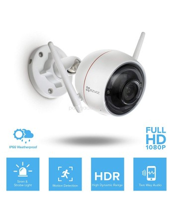 HikVision EZVIZ C3W Husky Air 720P Outdoor Full HD WiFi IP Camera CCTV With Alarm