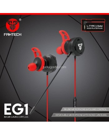 Fantech EG1 In-Ear Earphone Gaming with Microphone