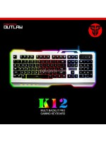 Fantech K12 Outlaw Metal Backlit Pro Gaming Keyboard