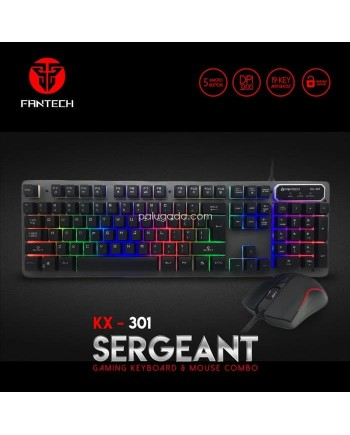 Fantech KX-301 Sergeant Keyboard Mouse Gaming Combo