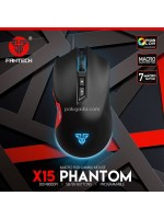 Fantech X15 Phantom Macro RGB Gaming Mouse 7 Button 4800 DPI