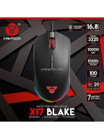 Fantech X17 Blake Macro RGB Gaming Mouse 7 Button 10000 DPI