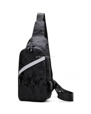 B871 Tas Selempang Pria USB Port - Smart Backpack - Slempang
