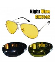 Kacamata Malam Anti Silau - Kuning (Night View Glasses)