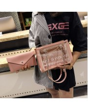 WB450 Tas Selempang Fashion Wanita - Shoulder Bag 2 in 1