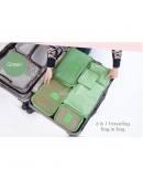 Travel Bag in bag Organizer 6 in 1