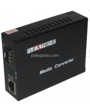 Flextreme FL-8110G-SFP-AS: Media Converter 10/100/1000 Mbps to SFP Slot