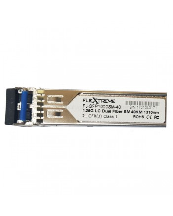 Flextreme FL-SFP1000SM-40 SFP Module 1000BaseLX Single Mode 40 Km