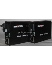 Flextreme FL-8110GSB-11-20A/B: Media Converter 10/100/1000 Mbps to WDM 1000SX, Single-Mode 20 Km, SC (2 Unit/PAIR)
