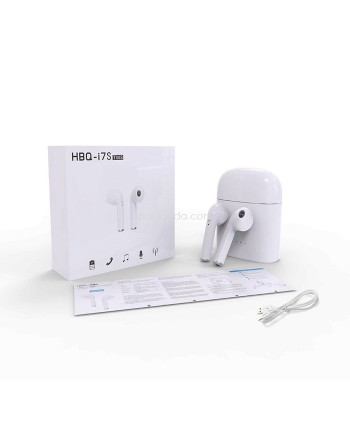 HBQ i7S Twin + Docking Bluetooth Stereo Music Earphone