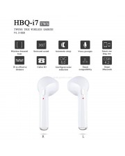 HBQ i7 Twin Bluetooth Stereo Music Earphone