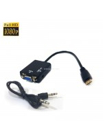 Mini HDMI to VGA Audio