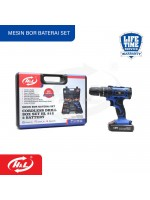 HL 912 Cordless Drill Box Set 2 Battery Mesin Bor Baterai Set