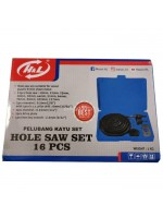 HL Hole Saw Set Kit 16 Pcs Holesaw Pelubang Kayu