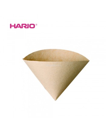 HARIO V60 Coffee Paper Filter 01 VCF-01-100M Brown