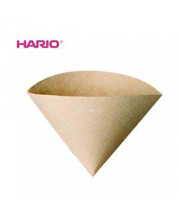 Hario VCF-02-100M V60 Coffee Paper Filter 02 Brown