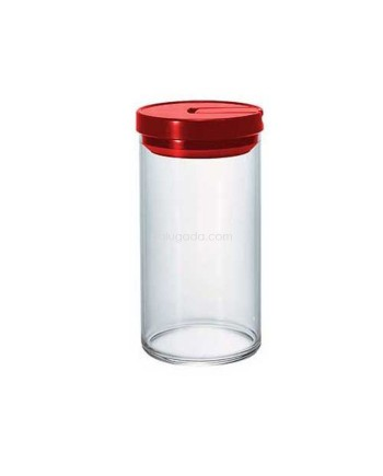 Hario Glass Canister Red 1L MCN-300R