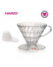 Hario VD-02T V60 Coffee Dripper 02 Clear Transparant VD-02 Plastic