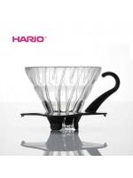 Hario V60 VDG-01B Glass Coffee Dripper Black
