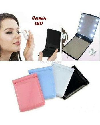 Cermin LED Lampu - Mirror Makeup LED 8pcs